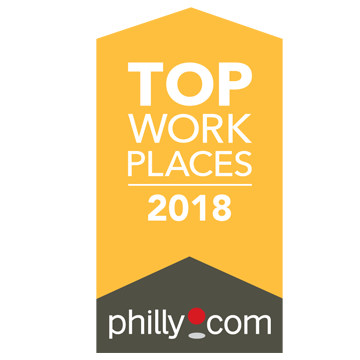 2018 Philly.com Top Workplaces Award