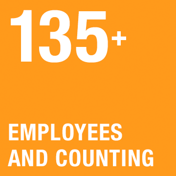 100+ Employees and Counting