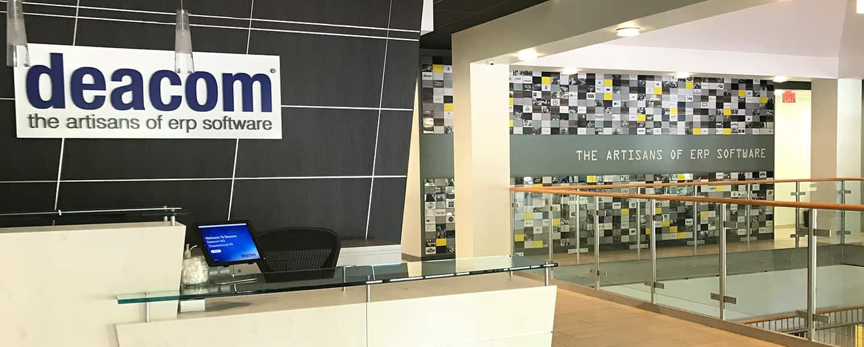Deacom HQ Lobby