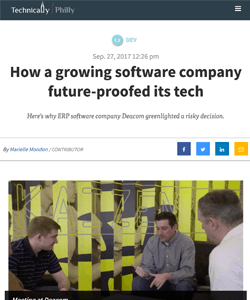 How a growing software company future-proofed its tech