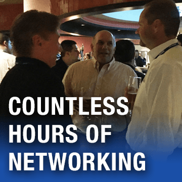 Countless hours of networking