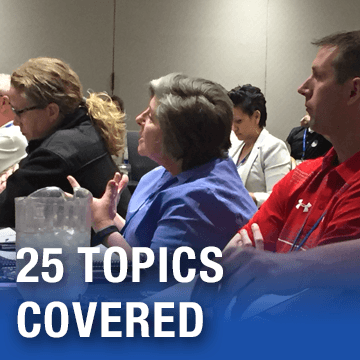 25 Topics Covered