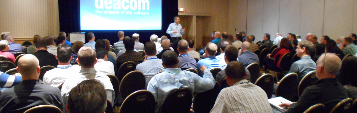 Why attend the Deacom Discover User Conference