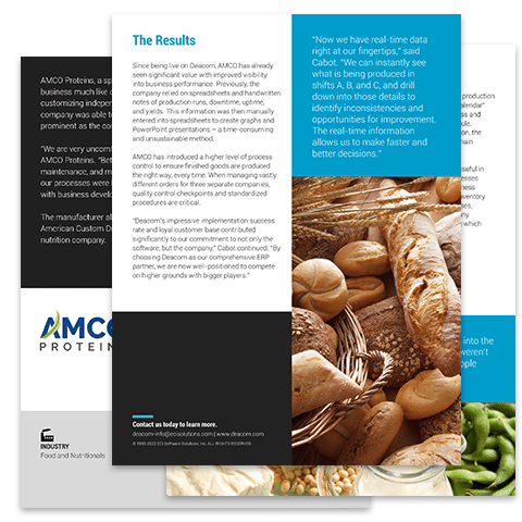 Case Study: AMCO Proteins