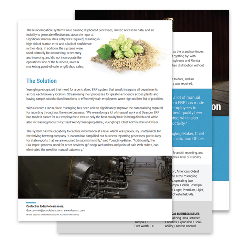 Case Study: D.G. Yuengling & Son