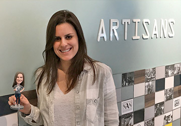 Artisan Spotlight: Nina Zecca, Business Development Representative